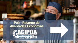 Prefeitura de Poá publica decreto sobre retorno das atividades